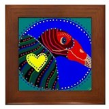 Turkey Vulture Framed Tile