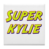 Super kylie Tile Coaster