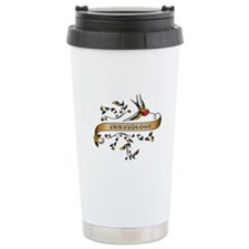 Immunology Scroll Ceramic Travel Mug