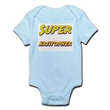 Super kristopher Onesie
