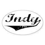 Indy Oval Sticker