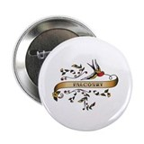 "Falconry Scroll 2.25"" Button (100 pack)"