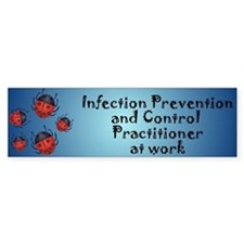 Infection Control Bumper Bumper Sticker