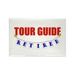 Retired Tour Guide Rectangle Magnet (10 pack)