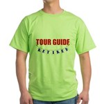 Retired Tour Guide Green T-Shirt