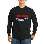 Retired Tour Guide Long Sleeve Dark T-Shirt