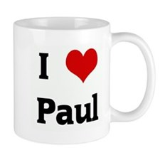 I Love Paul Coffee Mug