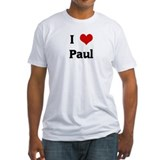 I Love Paul Shirt
