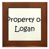 Unique Logan Framed Tile