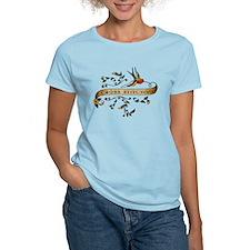 Cross-stitching Scroll T-Shirt