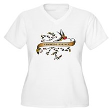 Criminal Justice Scroll T-Shirt