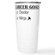 Doctor Career Goals Ninja Travel Mug