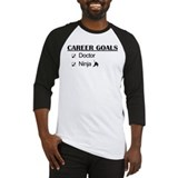 Doctor Career Goals Ninja Baseball Jersey