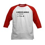 Doctor Career Goals Ninja Tee