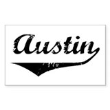 Austin Rectangle Decal