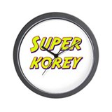 Super korey Wall Clock