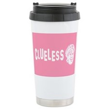 Palin is Clueless Ceramic Travel Mug