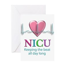 Keeping the beat all day long Greeting Card