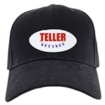 Retired Teller Black Cap
