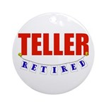 Retired Teller Ornament (Round)
