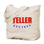 Retired Teller Tote Bag
