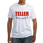 Retired Teller Fitted T-Shirt