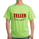 Retired Teller Green T-Shirt
