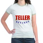 Retired Teller Jr. Ringer T-Shirt
