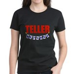 Retired Teller Women's Dark T-Shirt