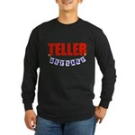 Retired Teller Long Sleeve Dark T-Shirt