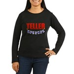 Retired Teller Women's Long Sleeve Dark T-Shirt