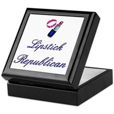 Lipstick Republican Keepsake Box