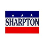 Al Sharpton '08 Rectangular Magnet