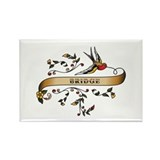 Bridge Scroll Rectangle Magnet