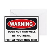 WARNING. DOES NOT FISH WELL WITH OTHERS.(Pk of 20)