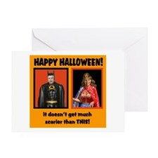 scary republicans Greeting Card