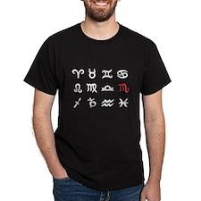 Zodiac Signs Scorpio T-Shirt