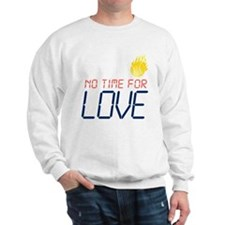 No Time For Love Tennis Sweatshirt