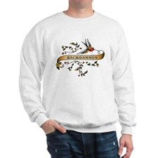 Backgammon Scroll Sweatshirt