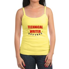 Retired Technical Writer Jr. Spaghetti Tank