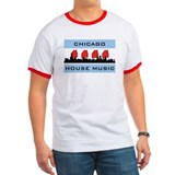 Cool Chicago flag T