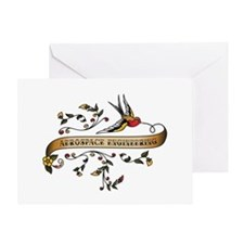 Aerospace Engineering Scroll Greeting Card