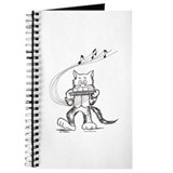 Catoons harmonica cat Journal