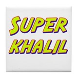 Super khalil Tile Coaster