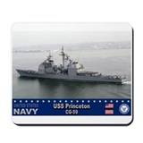 USS Princeton CG-59 Mousepad