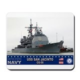 USS San Jacinto CG-56 Mousepad