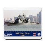 USS Valley Forge CG-50 Mousepad
