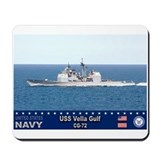 USS Vella Gulf CG-72 Mousepad