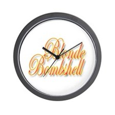 Blonde Bombshell Wall Clock