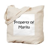 Funny Marilu Tote Bag